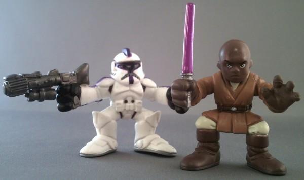 Playskool Star Wars Galactic Heroes Jedi Force Mace Windu
