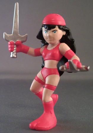 Marvel Super Hero Squad Red Elektra