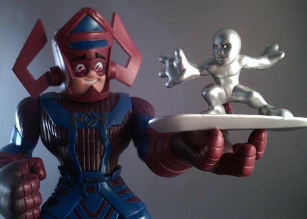 Marvel Super Hero Squad Mega Pack Review Galactus Amp Human