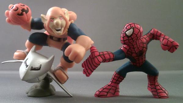 MARVEL SUPER HERO SQUAD Carnage /& Ben Reilly Spider-Man Set Figure NEW