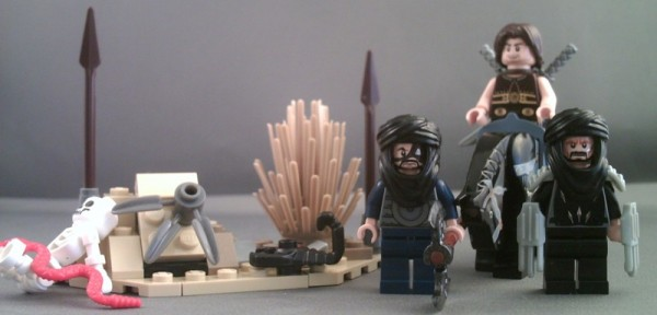New Lego 7569 Prince of Persia Desert Attack  Minifigures with Snake scorpion