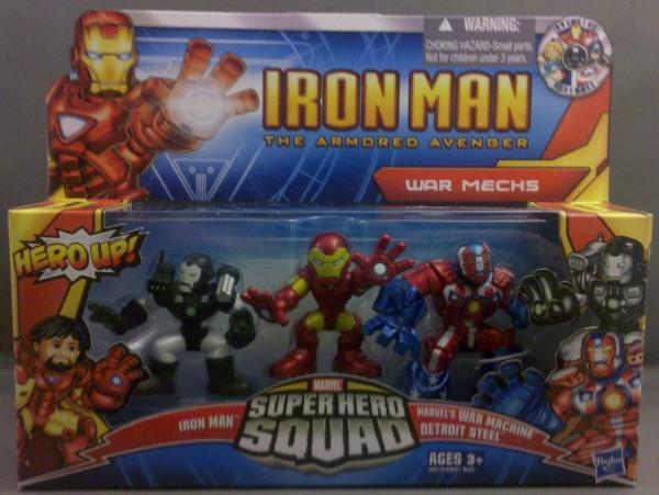 S. D Marvel Super Hero Squad DETROIT STEEL from Avengers Wave 1 Iron Man