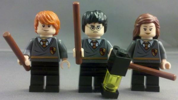 Lego Harry Potter Ron Weasley minifigure 4738 new