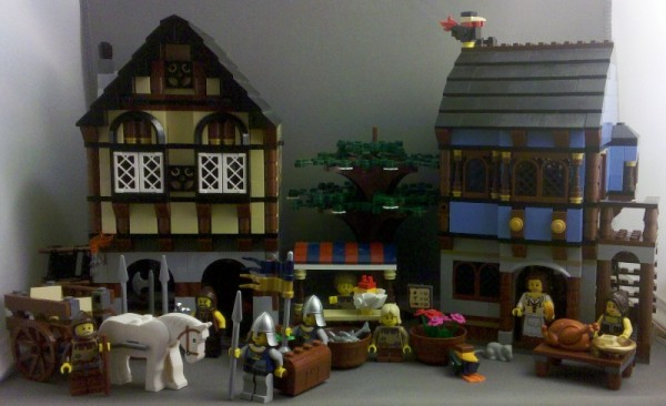 LEGO Castle Review: Medieval Market Village #10193 | JesterGoblin