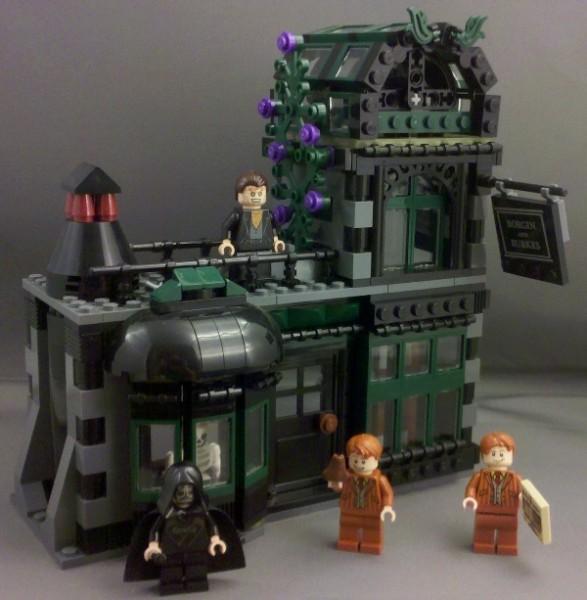 Lego Harry Potter Review Diagon Alley 10217 Part 2