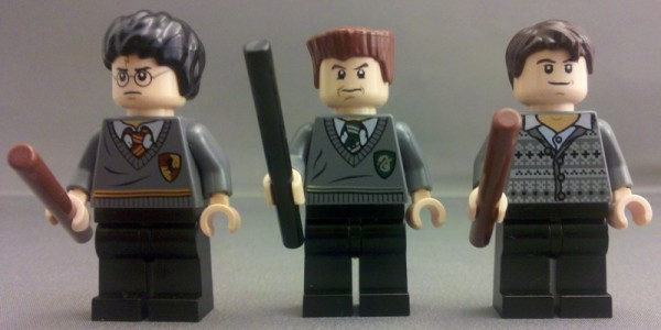 Hair piece from set 4867 for Harry Potter BRAND NEW Lego Professor Lupin Head