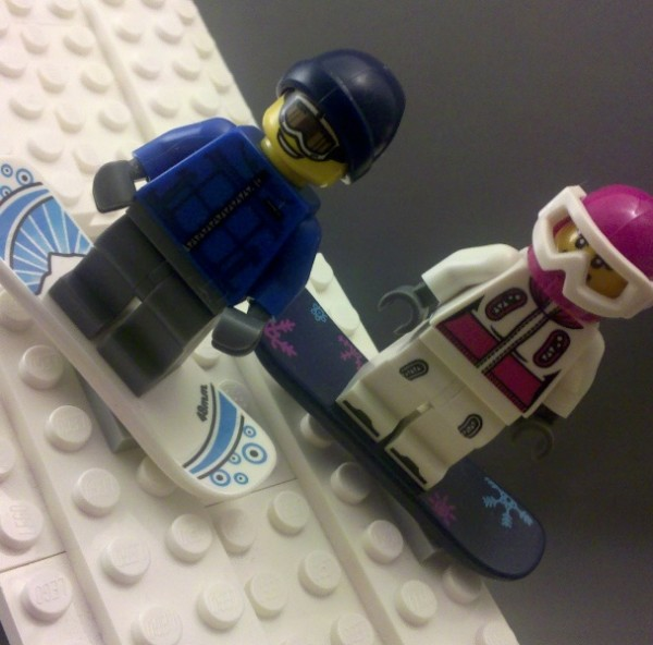 Lego Minifigures Snowboarder Lego Collectible Minifigures