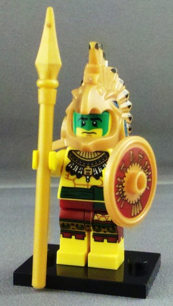 Image result for lego cmf aztec