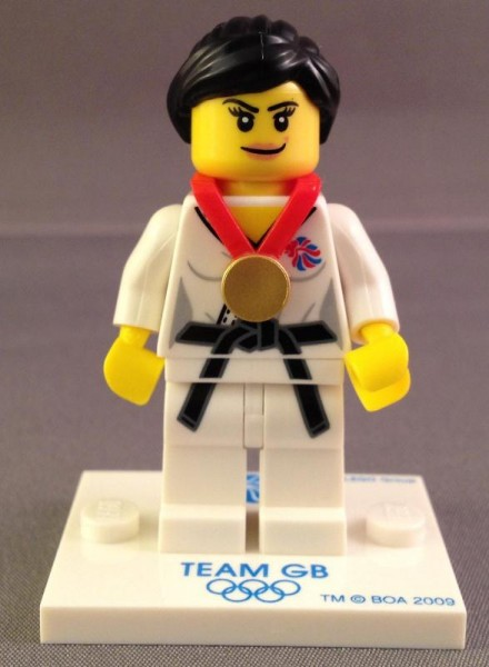Lego Team GB Minifigure Judo Fighter Legs only