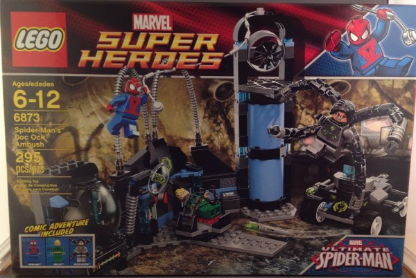 LEGO Marvel Super Heroes Review: Ultimate Spider-Man's Doc Ock ...