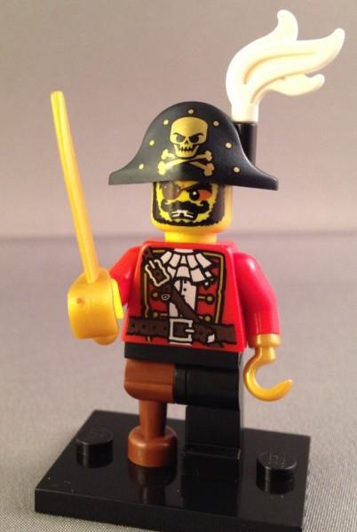 Lego Pirate Explorer Minifigure