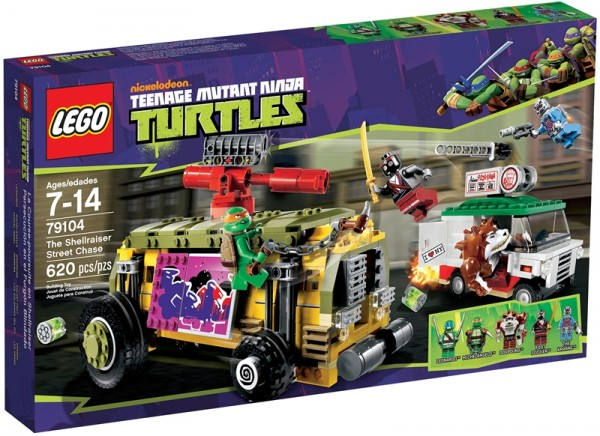 LEGO TMNT The Shellraiser Street Chase