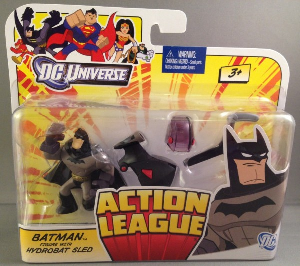 DC Universe Action League Batman with Hydrobat Sled