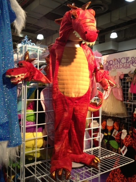 Three-headed dragon costume