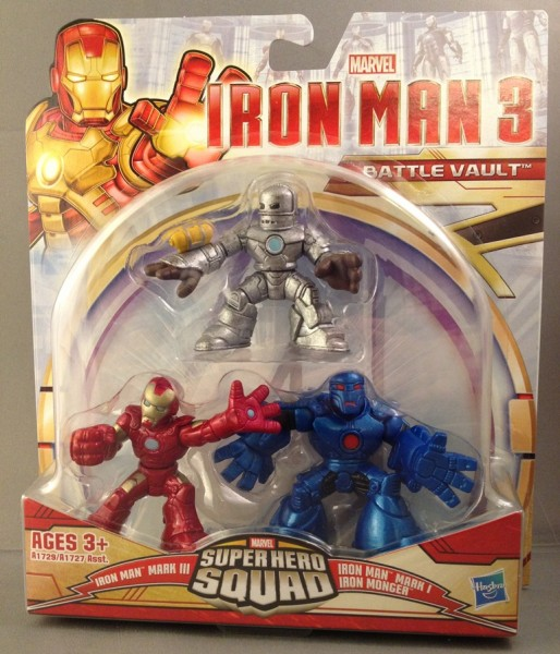 Iron Man 3 Super Hero Squad Battle Vault