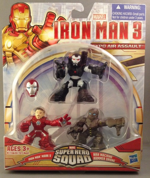 Iron Man 3 Super Hero Squad Expo Air Assault