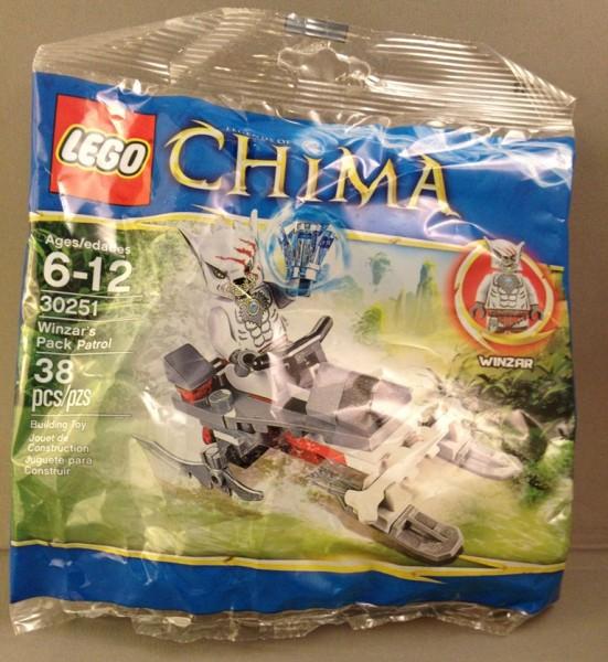 LEGO Legends of Chima Winzar's Pack Patrol