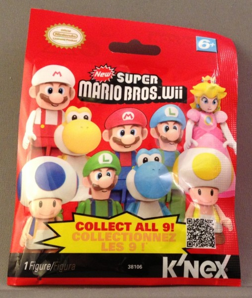 Blind Bagged K'NEX Super Mario