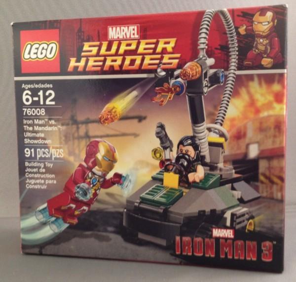LEGO Iron Man 3: Iron Man vs Mandarin