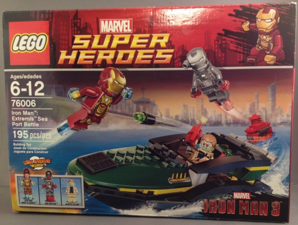 LEGO Iron Man Extremis Sea Port Battle